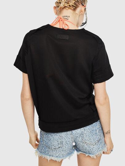 Diesel - T-ROCK-A, Black - T-Shirts - Image 2