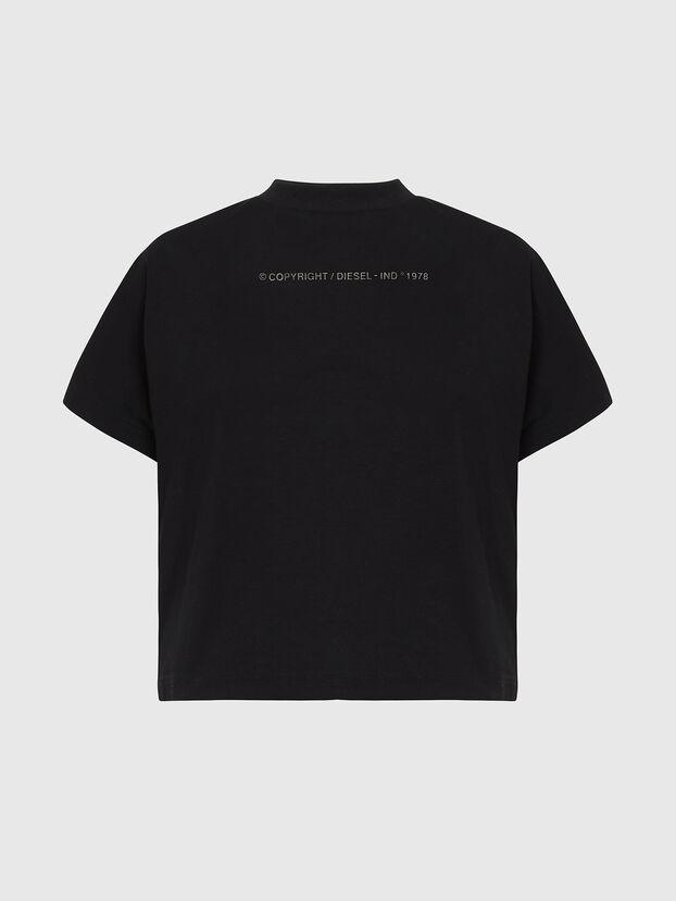 T-SLOWLY, Noir - T-Shirts