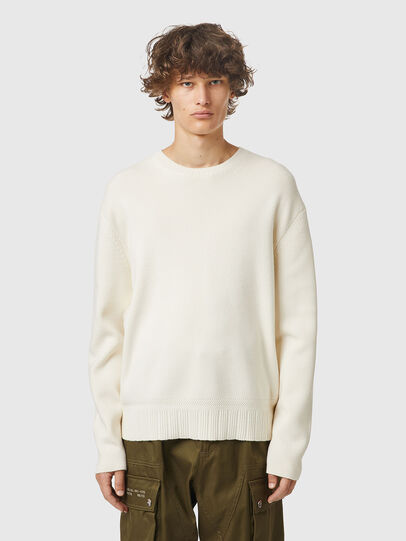 Diesel - K-ATHENS, White - Sweaters - Image 1