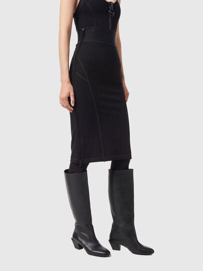 Diesel - O-BAND, Black - Skirts - Image 5