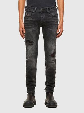 Sleenker 009JN, Noir/Gris foncé - Jeans