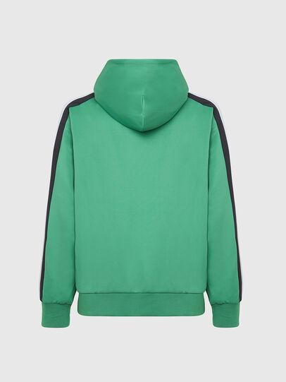 Diesel - S-STEEL, Green - Sweatshirts - Image 2