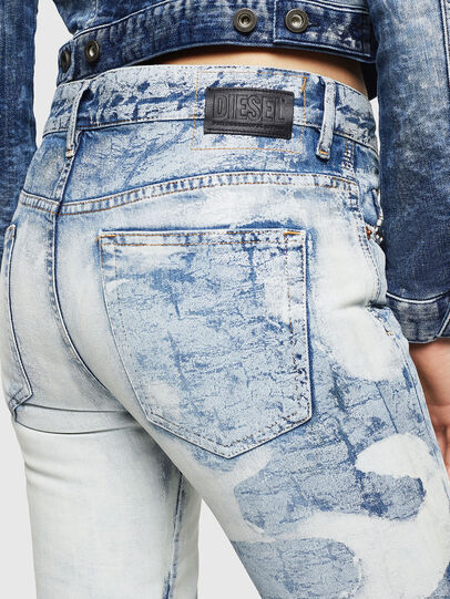 Diesel - D-Rifty 0890P, Bleu Clair - Jeans - Image 5