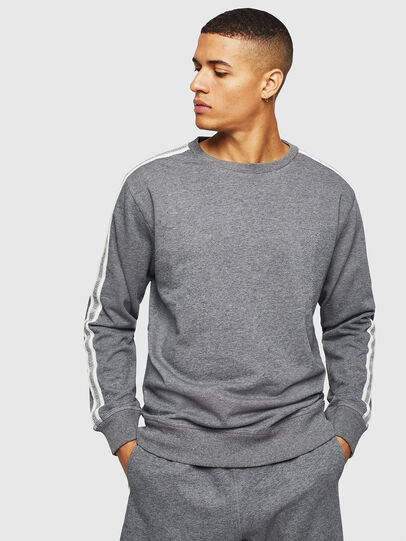 Diesel - UMLT-WILLY, Grey - Sweatshirts - Image 5