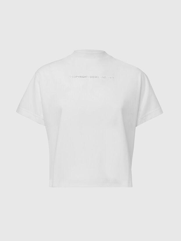 T-SLOWLY, Blanc - T-Shirts