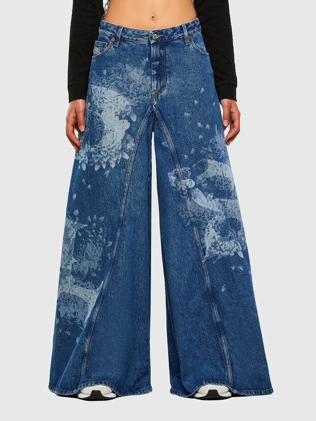 D-Spritzz 009GV, Medium Blue - Jeans