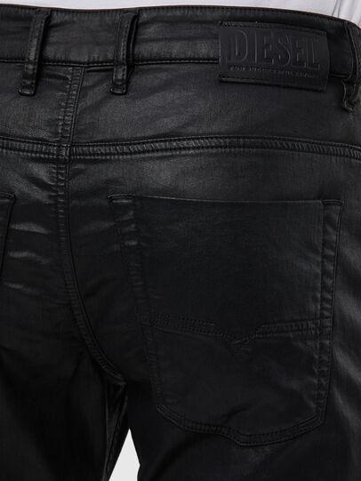 Diesel - Krooley JoggJeans 0849R, Noir/Gris foncé - Jeans - Image 4