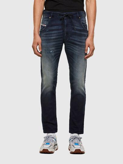 Diesel - Krooley JoggJeans 069QD, Bleu Foncé - Jeans - Image 1