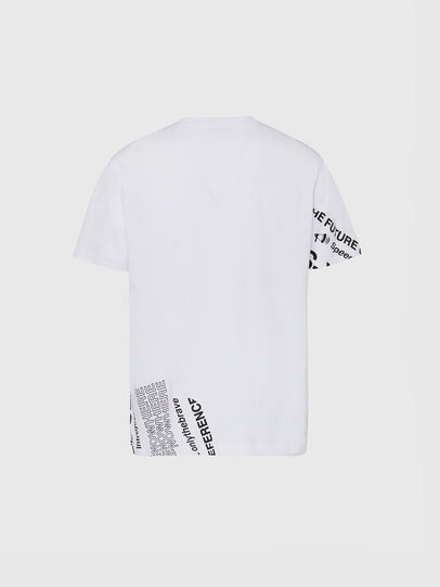Diesel - T-JUST-FOLDED, Blanc - T-Shirts - Image 2