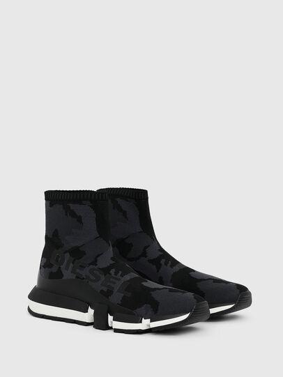 Diesel - H-PADOLA HIGH SOCK, Noir - Sneaker - Image 2