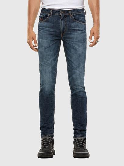 Diesel - Thommer 009DA, Bleu Foncé - Jeans - Image 1
