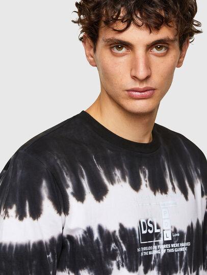 Diesel - T-JUST-A38, Noir/Blanc - T-Shirts - Image 3