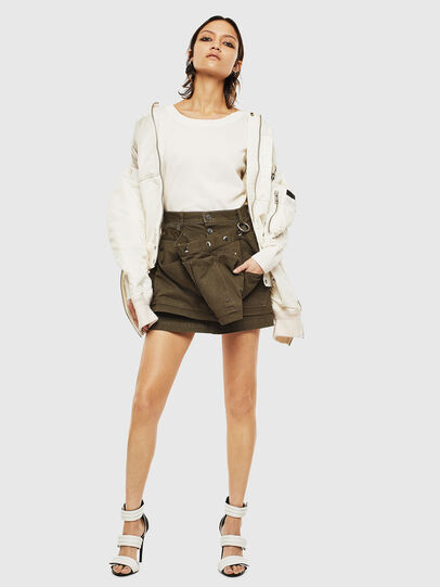Diesel - M-PERLA-A, Blanc - Pull Maille - Image 8