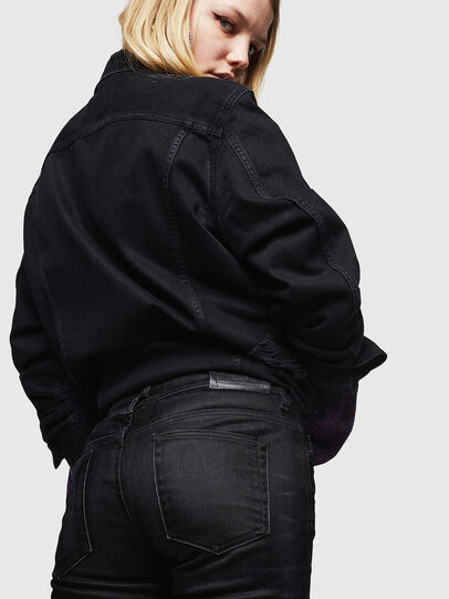 Diesel - D-Rifty 0091I, Black/Dark Grey - Jeans - Image 5