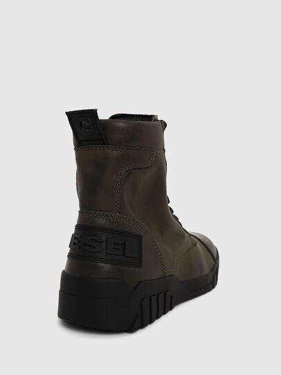 Diesel - H-RUA AM, Vert Militaire - Baskets - Image 4