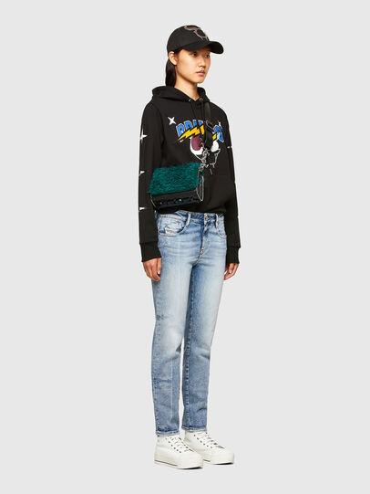Diesel - CL-S-GIRK-HOOD-O1, Black - Sweatshirts - Image 8