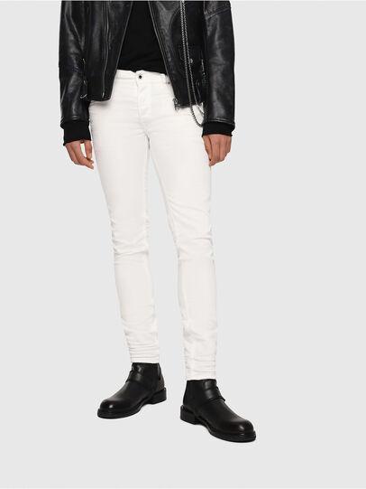 Diesel - Sleenker 084CY, Blanc - Jeans - Image 1