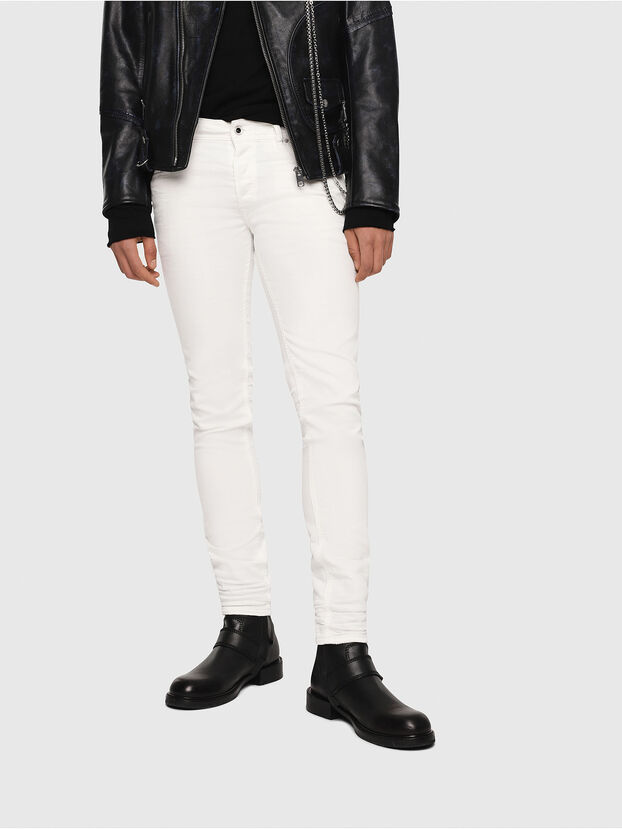 Sleenker 084CY, White - Jeans