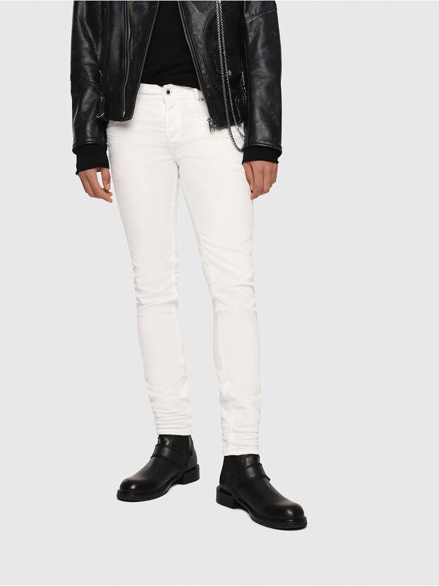 Sleenker 084CY, Blanc - Jeans