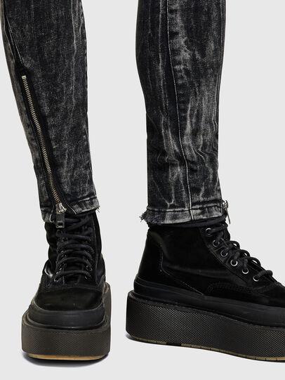 Diesel - D-Jevel 009PX, Noir/Gris foncé - Jeans - Image 4