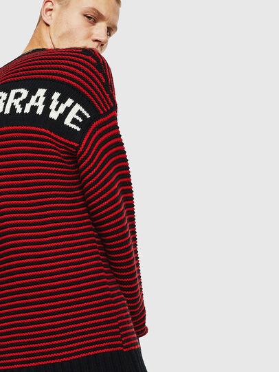 Diesel - K-BALLIS, Red/Black - Sweaters - Image 7