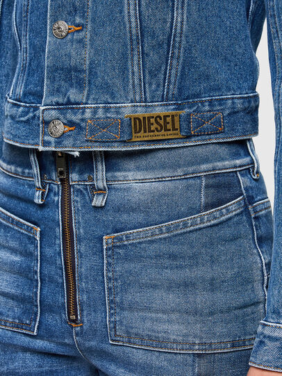 Diesel - DE-LIMMY, Bleu moyen - Vestes en denim - Image 4