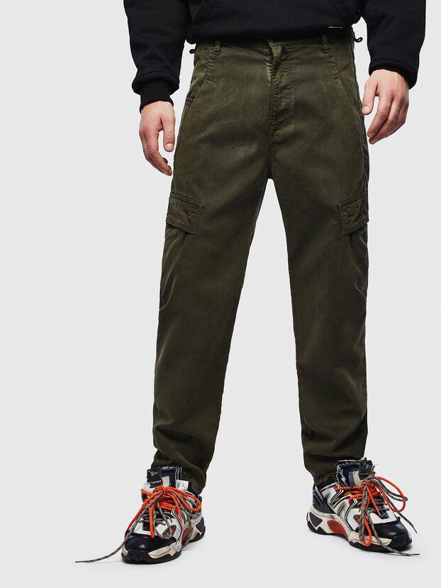 D-Krett JoggJeans 069LX, Vert Militaire - Jeans