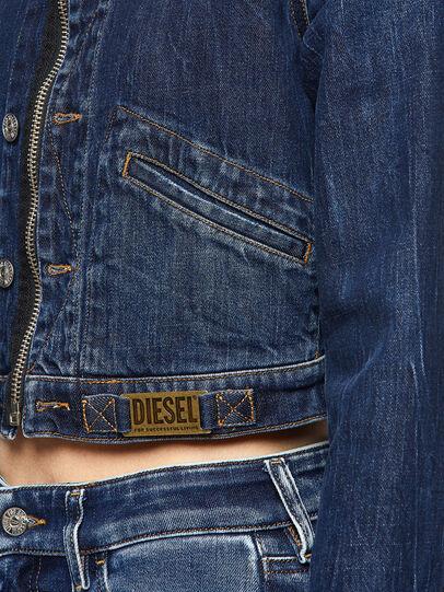 Diesel - DE-BLONDY, Bleu Foncé - Vestes en denim - Image 3