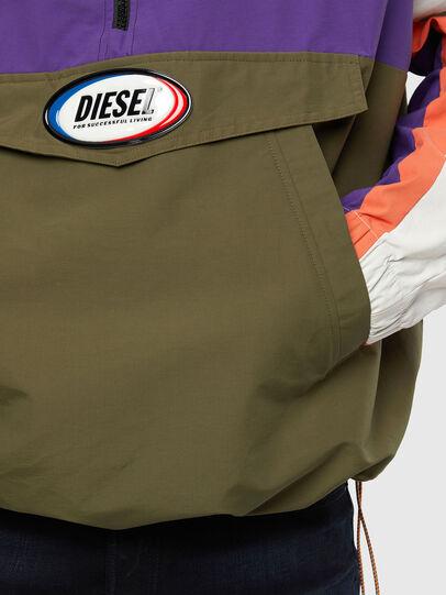 Diesel - J-SHAUN, Violet/Vert - Vestes - Image 4