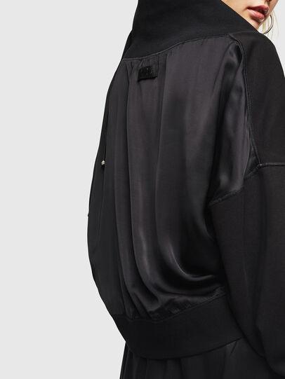 Diesel - F-KESA, Noir - Pull Cotton - Image 4