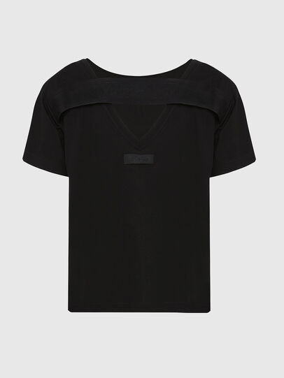 Diesel - T-RYLY, Noir - T-Shirts - Image 2