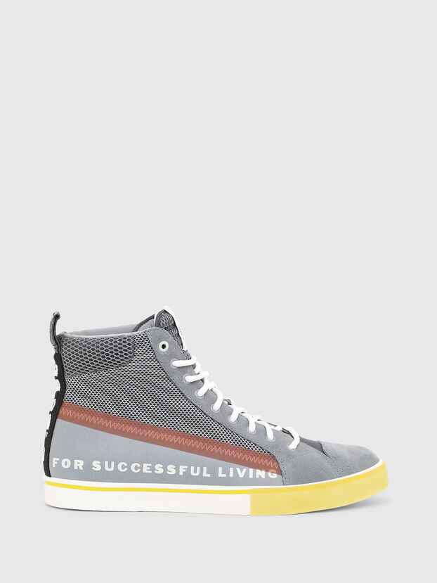 S-DVELOWS MID, Grey - Sneakers