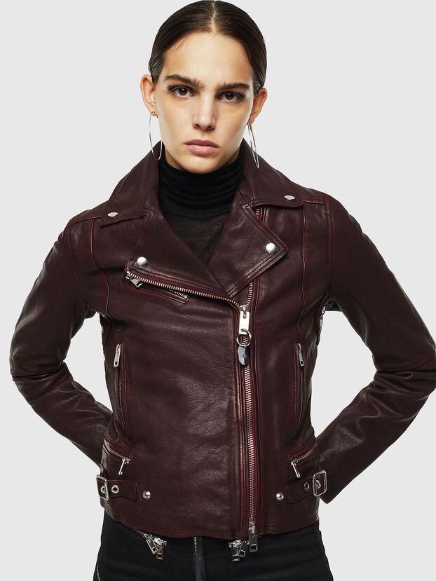 L-YLE, Bordeaux - Vestes de cuir