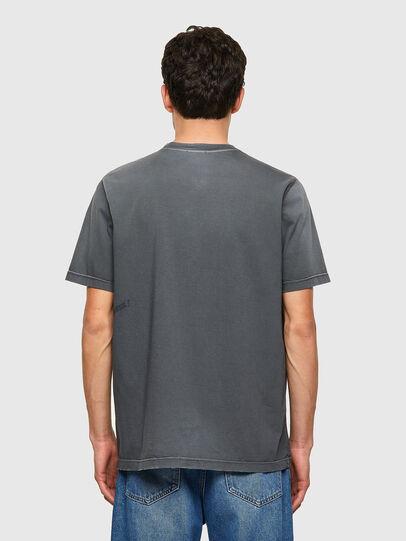 Diesel - T-JUST-B64, Gris - T-Shirts - Image 2