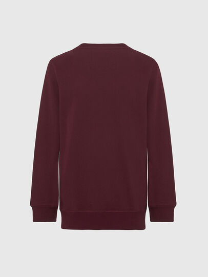 Diesel - UMLT-WILLY, Bordeaux - Pull Cotton - Image 2