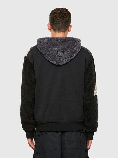 Diesel - S-ALDY, White/Black - Sweatshirts - Image 3