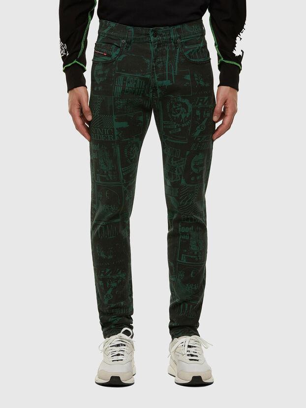 D-Strukt 009GB, Vert Foncé - Jeans