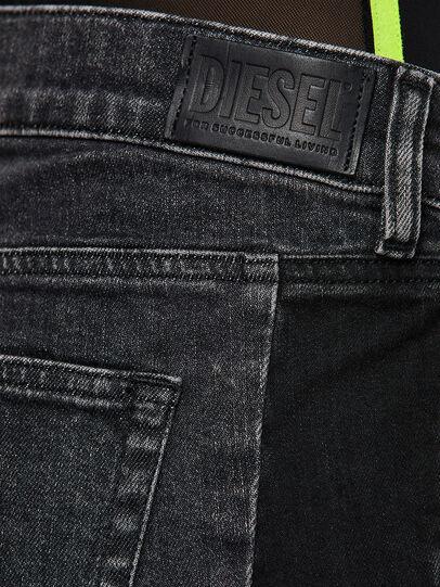 Diesel - D-Ebbey 009IM, Noir/Gris foncé - Jeans - Image 4