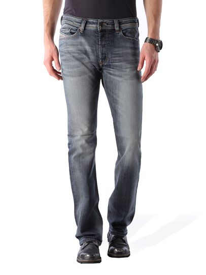 Diesel - Viker 0885K, Bleu Foncé - Jeans - Image 1