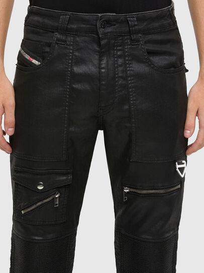 Diesel - D-Derrot JoggJeans 069QY, Noir/Gris foncé - Jeans - Image 3