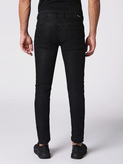 Diesel - Sleenker 084SB, Black/Dark Grey - Jeans - Image 2