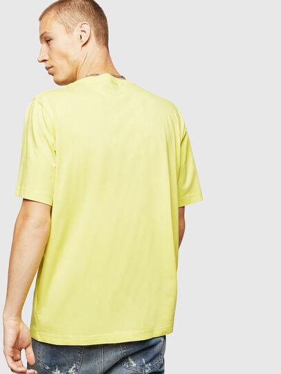 Diesel - T-JUST-B25, Jaune - T-Shirts - Image 2