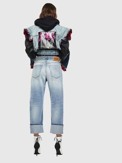 Diesel - D-Reggy 0098V, Bleu Clair - Jeans - Image 2