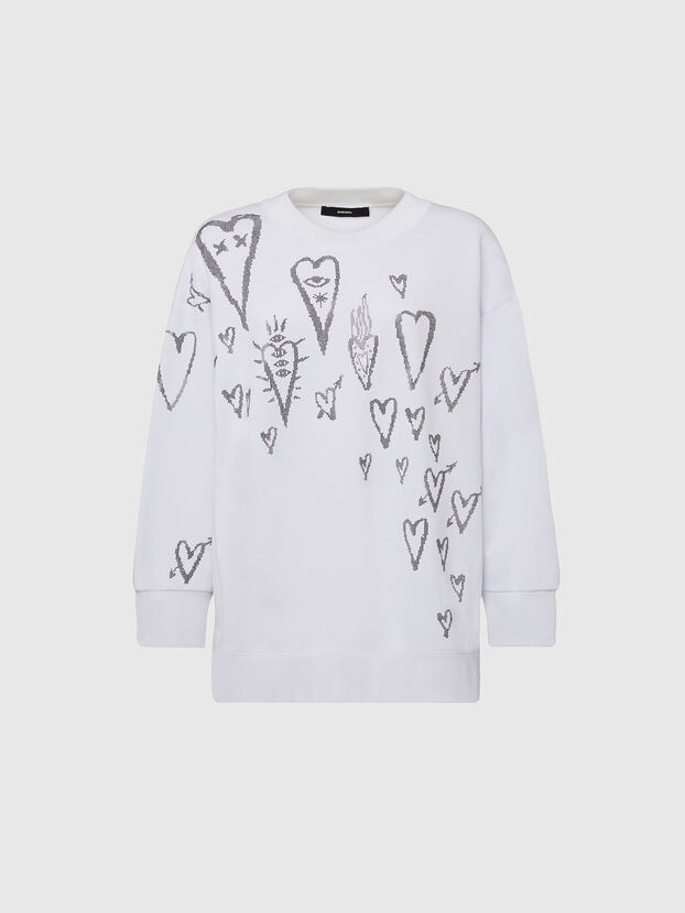 F-AKUA-E60, White - Sweatshirts