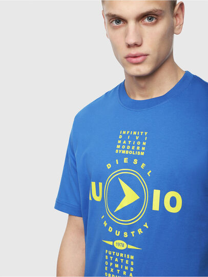 Diesel - T-JUST-Y2, Brilliant Blue - T-Shirts - Image 3
