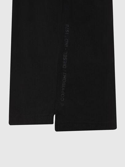 Diesel - T-JUST-LS-HOOD-X30, Noir - T-Shirts - Image 5