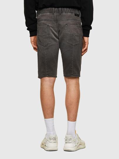 Diesel - D-KROOSHORT JOGGJEANS, Noir - Shorts - Image 2