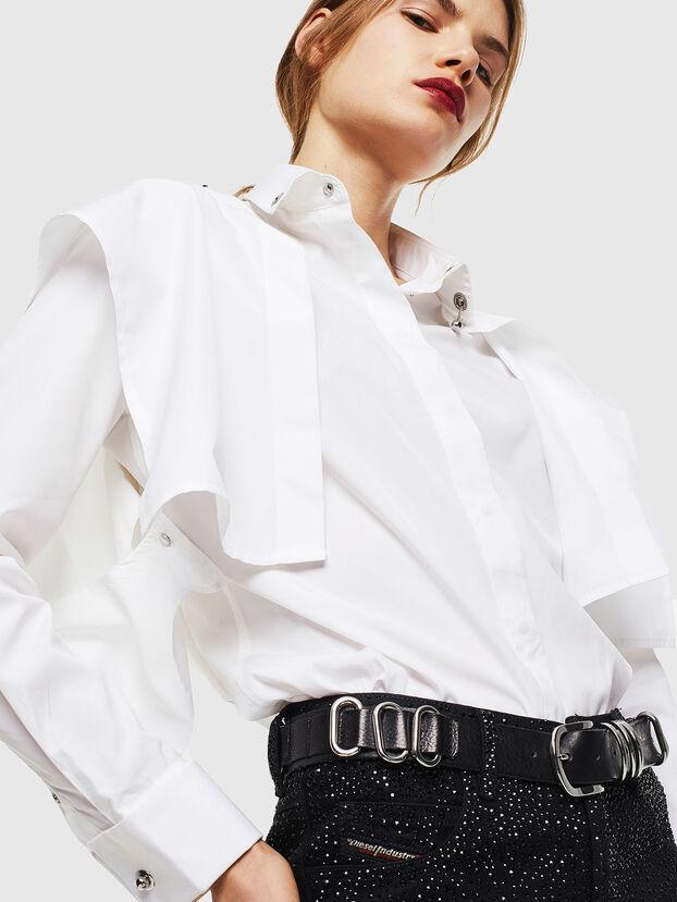 C-RAILY-SHAPED, Blanc - Chemises