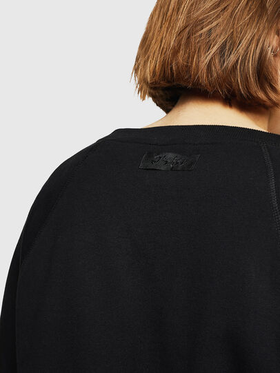 Diesel - F-HENNY-D, Noir - Pull Cotton - Image 3