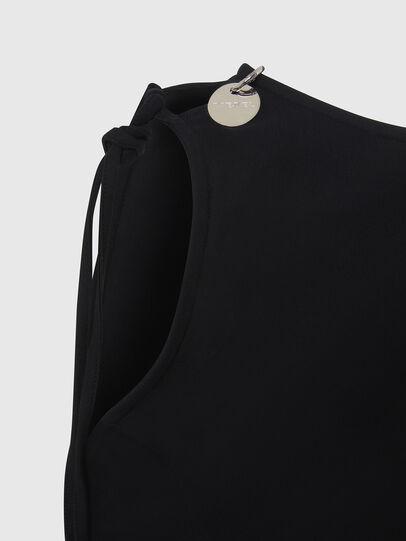 Diesel - D-REVERT, Noir - Robes - Image 4